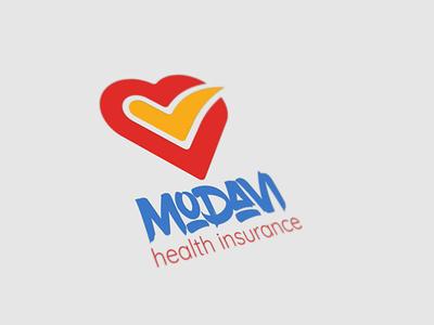 Logo Design Insurance Co. branding logo design ui