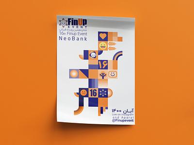 Poster Design (Neo Bank) (event) FinupEvent evenddesign neobank poster design poster