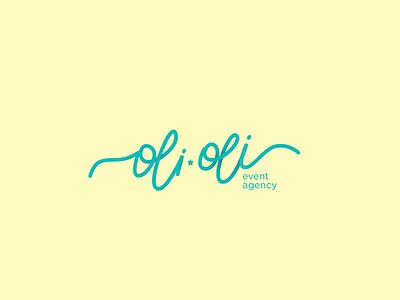 Oli Oli lettering calligraphy logo