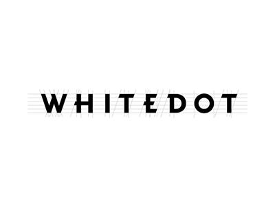 Whitedot identity logo typography font development