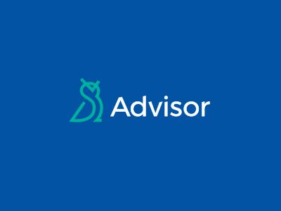 Advisor line advisor logo owl