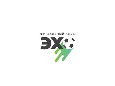 Echo ball sport brand logo school football futsal