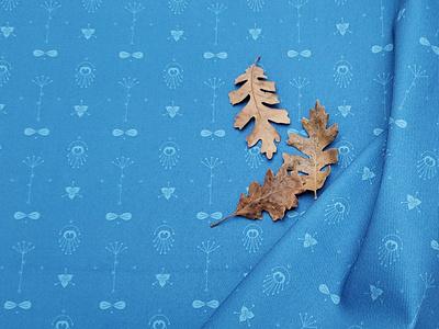 one235eight (blueonblue denim) fabric textile pattern