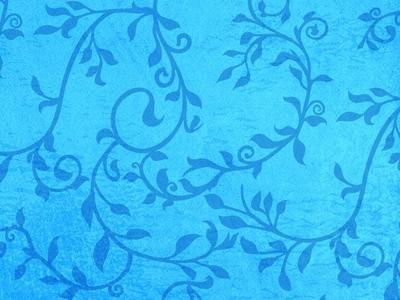 Free Wallpaper Download: Leafy Vines Blue