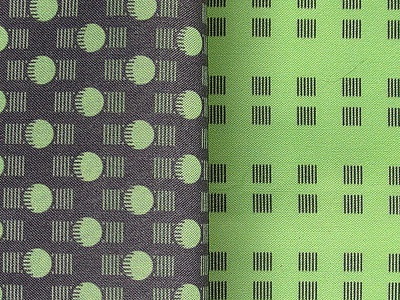 Pattern coordinate for Flashbulbs! chartreuse