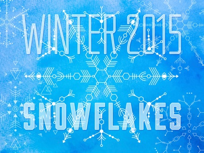 Vector Snowflake Illustrations illustration vector snow holiday snowflakes download
