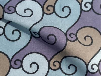 Pattern - Spiral Tempest geometric pattern pattern design surface design pattern textile fabric