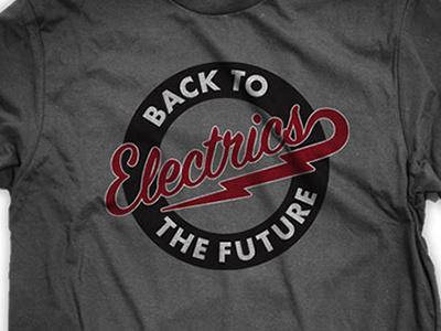 Logo: Back to the Future Electrics identity logo