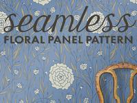 Dahlias Floral Pattern