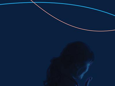 Exhibit booth graphic (sneak peek) workinprogress exhibit design illustration wip