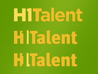 Logo: H1Talent Revision Ideas