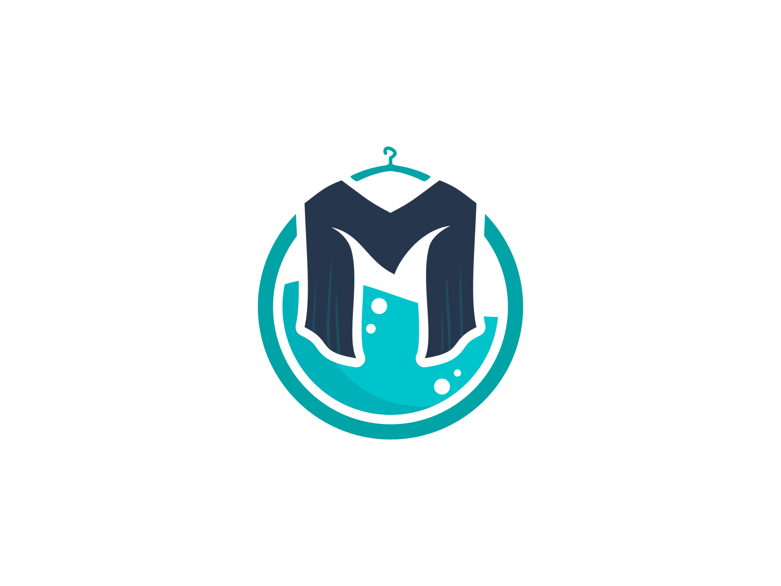 muchklis laundry logo by adi prayoga on dribbble muchklis laundry logo by adi prayoga on