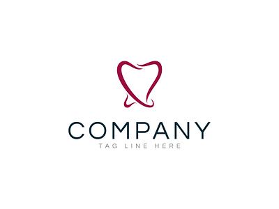 Dental Care designer care service beauty product clinic business graphic design dentist dental care logo ground logoground illustration flat vector branding design logo