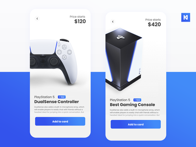 PlayStation 5 Store (PS5) design concept store design store minimal ecommerce product app ux ui