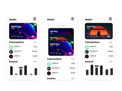 Banking UI App design concept app ux ui