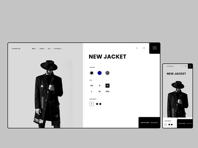 Clothes.Inc Concept minimal web design webdesign online shop webapp web ecommerce fashion
