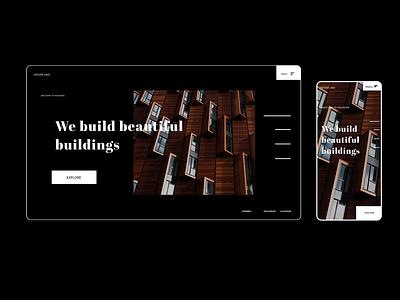 Architecture Post concept web design webdesign website web architecture