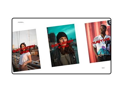 Alireza Portfolio web photographer videographer gallery portfolio design ui figma minimal webdesign