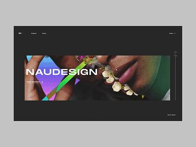 Portfolio minimal dark adobe xd animation interaction design portfolio ux ui web design website web webdesign