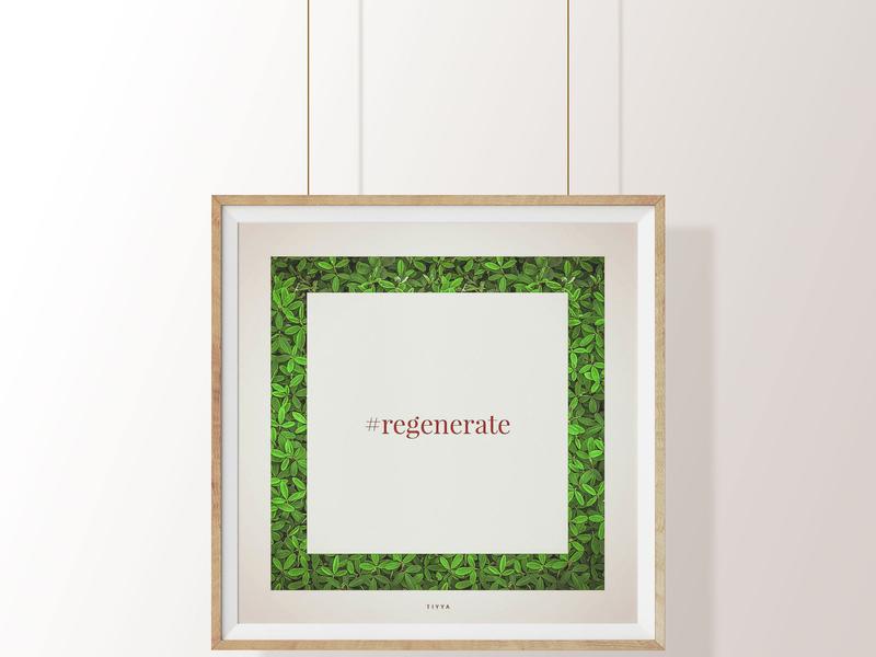 Hashtag tiyya cosmetics organic natural hashtag minimal social media indesign illustrator photoshop digital marketing instagram