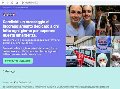 First Web App ❤
