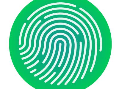 Fingerprint ispired by... fingerprint logo illustrator