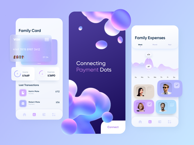 Payment Dots // Mobile App banking fintech app fintech business finance app pay mastercard visa wallet finance credit card payment app payment app design mobile ui mobile app product ui app mobile