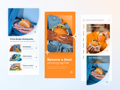 Special Burger // Mobile App food and drink product design product ux design ui design ux ui burger card app mobile ui mobile app mobile food app delivery app menu hamburger delivery food