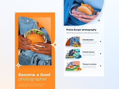 Special Burger // Mobile App food and drink product design product ux design ui design ux ui burger card app mobile ui mobile app mobile food app delivery app menu hamburger delivery food