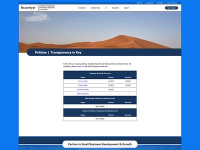 Policies - Parent Website designinspiration uiux website ux design uxdesign ux bazamiyat user interface design user interface ui web  design webdesign design