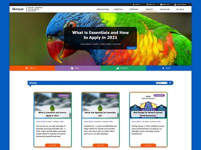 Insights Blog - Akoviyat blog design blog website designinspiration ux design uxdesign ux web  design webdesign user interface design user interface ui design