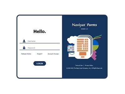 Login View 2021 - Naviyat Forms login design login screen login form login page login designinspiration uiux bazamiyat ux design uxdesign ux user interface design user interface ui design