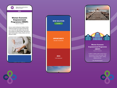 WEEP Homepage - Responsive Design bazamiyat responsive design responsive mobile mobile design designinspiration homepage design homepage home uiux ux web  design webdesign user interface design user interface ui design