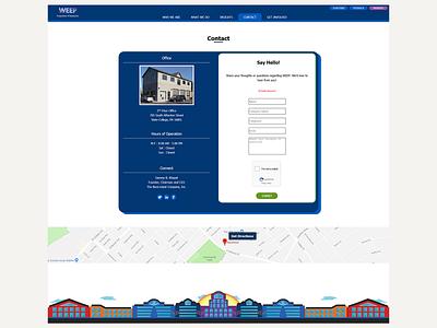 WEEP - Contact Page Redesign bazamiyat women empowerment women ux design uxdesign ux user interface design user interface ui website web web  design webdesign design