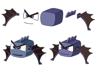 Exploded Bat