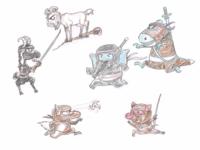 Animal Ninjas