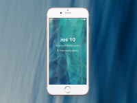 ios 10 Inspired Wallpapers