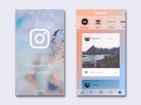 Instagram Redesign (Stories)