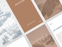 Montane - Photo series