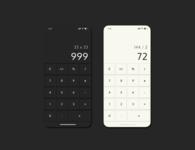 DAYLY UI   Calculator
