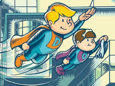 Children's Book Illustration illustration