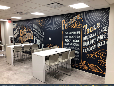 Compass Data Centers Mural