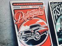 Hallmark Metal Tin Classic Car