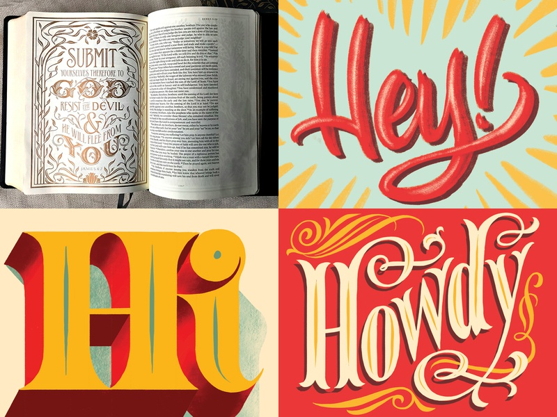 My Top 4 hand-lettering lettering