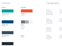 Style guide and branding