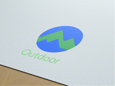 Google Outdoor Logo Mockup design app icon flat typography typo mockup branding google logo