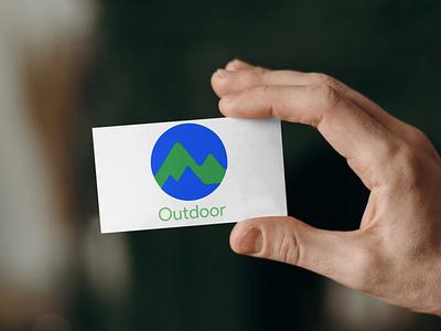 Google Outoor Logo Mockup typography mockups app icon mockup flat logo branding design