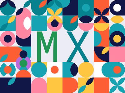 Design to the MX contest logitech web vector illustration typography minimal 2d branding flat design