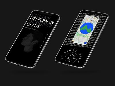 Cillian Heffernan Portfolio 2021 Mockup ux ui branding design 2021 portfolio heffernan cillian