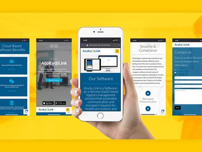 Acuity Link Website Design